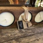 Three Hole Mold Candles – $28
