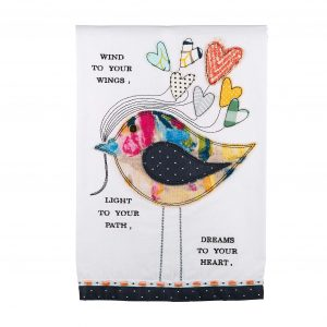 Glory Haus Wind to Your Wings Tea Towel $22.00
