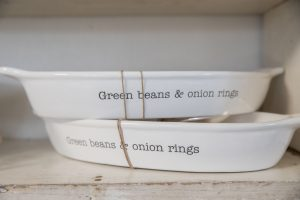 Mud Pie Green Beans and Onion Rings Serving Dish $40.00