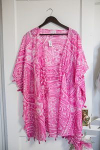 Sabine Cover Up: Pink Paisley