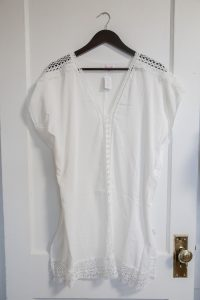 Amber Cover Up: White $34.00