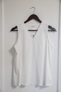 Amy Top: White $36.00