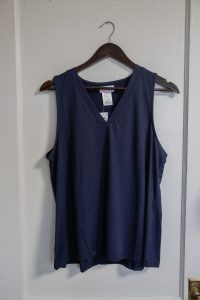 Amy Top: Navy $36.00