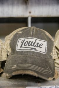 Vintage Life Distressed Trucker Hat: Louise