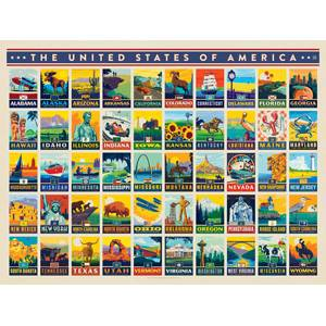 True South American States Puzzle