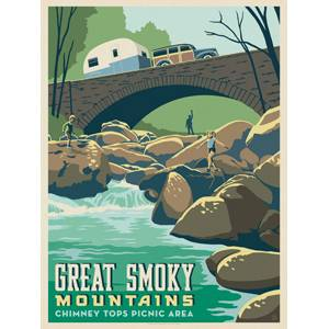 True South Great Smokey Mountains Chimney Tops